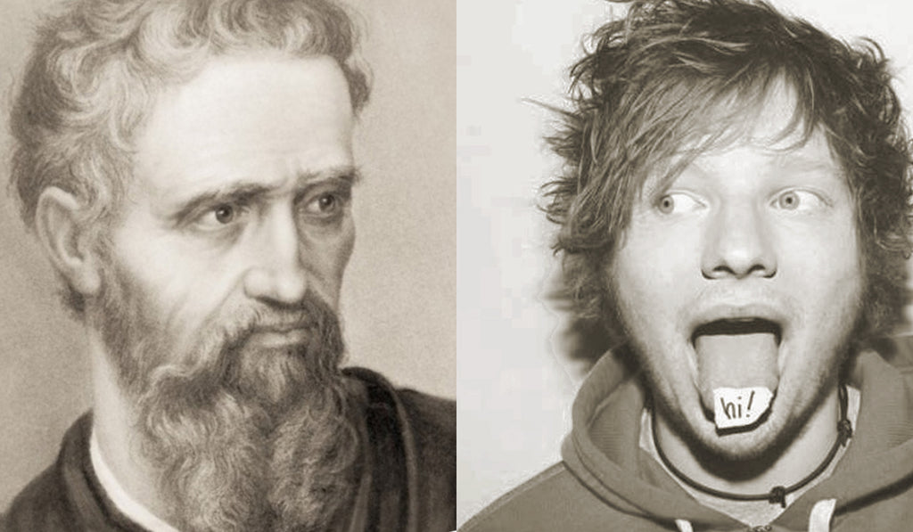 Michelangelo + Ed Sheeran