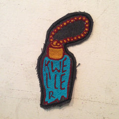 Handmade Rabbits Foot Patch