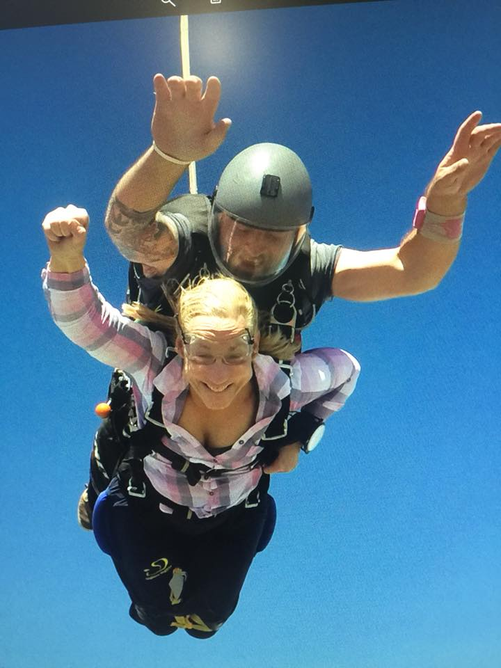 Paraplegic Author Skydiving!