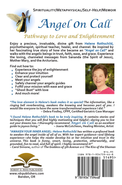 ANGEL ON CALL: Pathways to Love and Enlightenment by Helene Rothschild