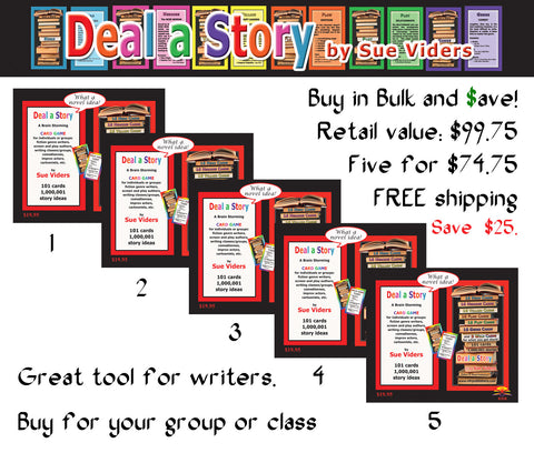 Deal a Story — Five decks of cards