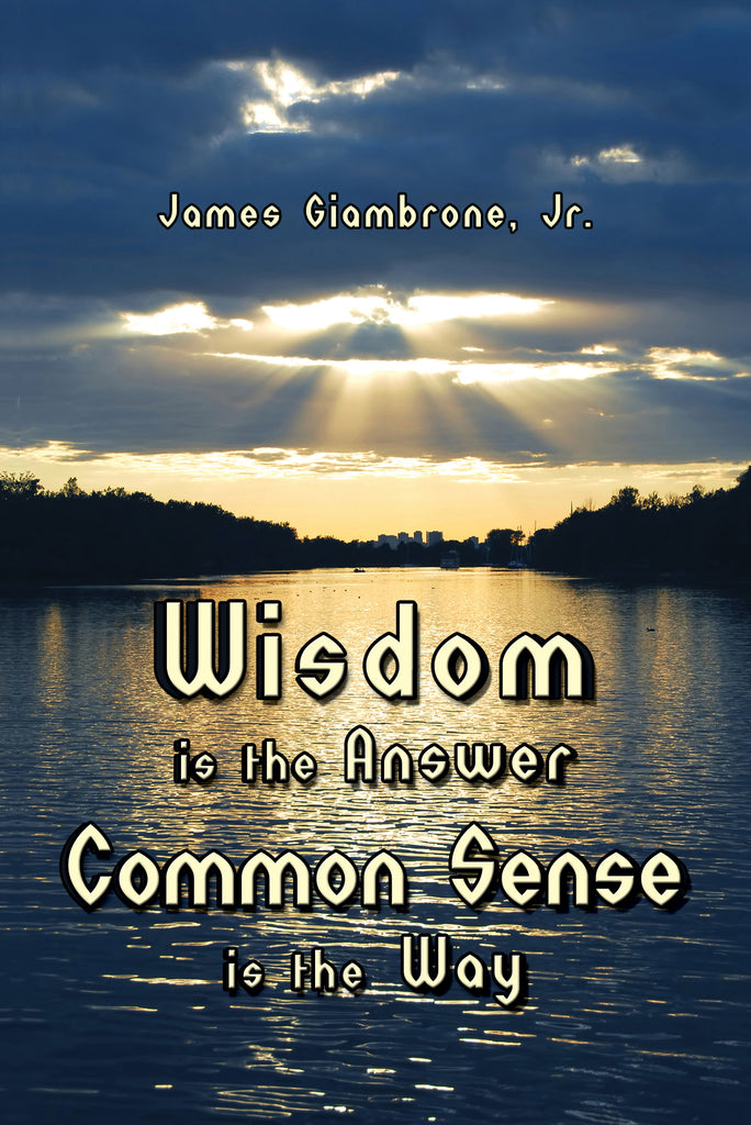 Wisdom is the Answer—Common Sense is the Way by James Giambrone, Jr.