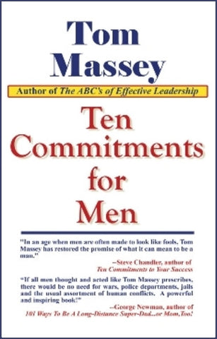 Ten Commitments for Men by Tom Massey