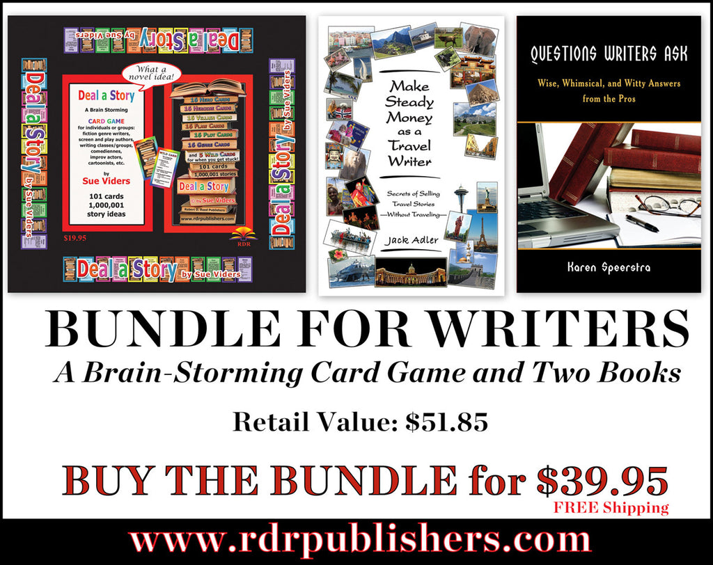 BUNDLE for Writers: Deal a Story and two books