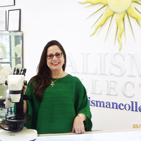 Andrea Riso, owner of Talisman Collection