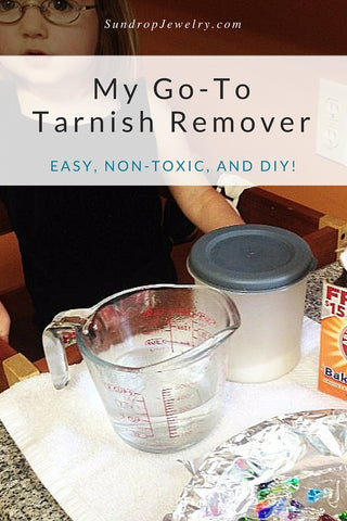 Cleaning silver - an easy, non-toxic, DIY method for removing tarnish