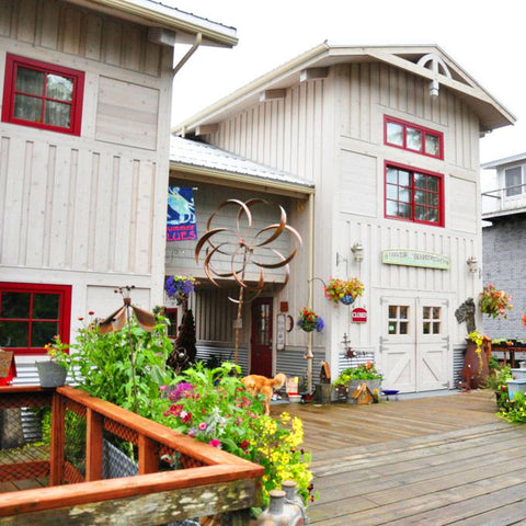 Thyme on the Boardwalk, nursery and gift shop in Seldovia, Alaska