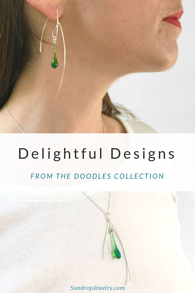 Delightful new jewelry designs from the new collection by Sundrop Jewelry
