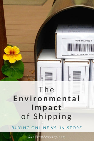The Environmental Impact of Shipping: Buying Online vs. In-Store