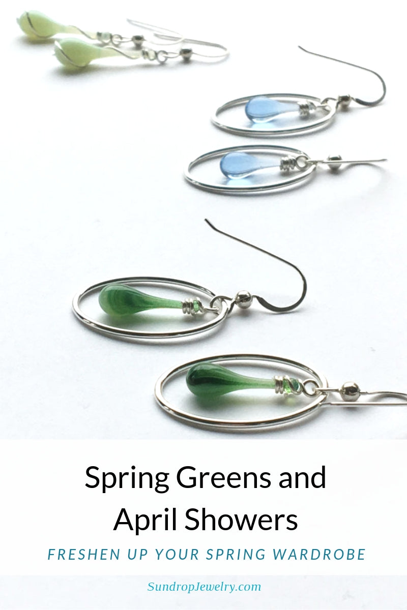 New Spring greens and blues to freshen your wardrobe for Spring!