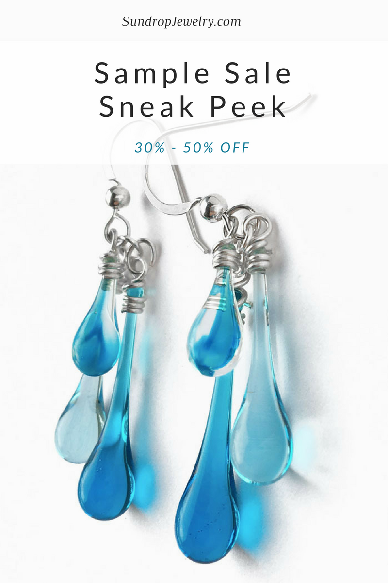 Sundrop Jewelry Sample Sale - get a sneak peek!