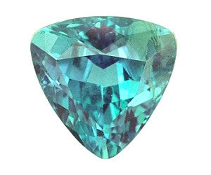 June gemstone - alexandrite's blue-green color under daylight