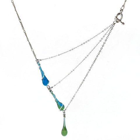 Triple Bohemian Necklace available at Sundrop Jewelry's bay area events