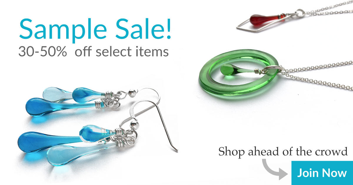 Sample Sale: 30-50% OFF one of a kind, limited edition, and overstock items by Sundrop Jewelry