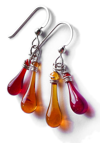 Candlelight Duet Earrings #2