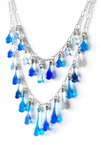 Bering Sea Waterfall Necklace