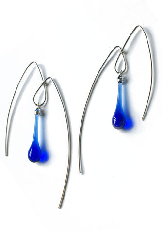 Mountain Earrings, large
