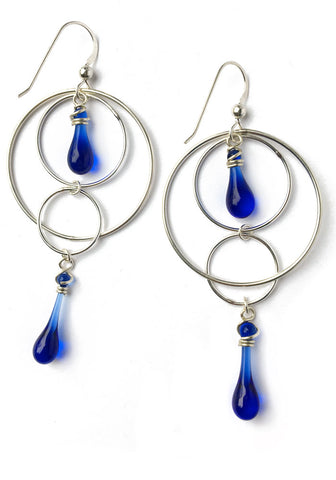 Orbital Motion Earrings, small