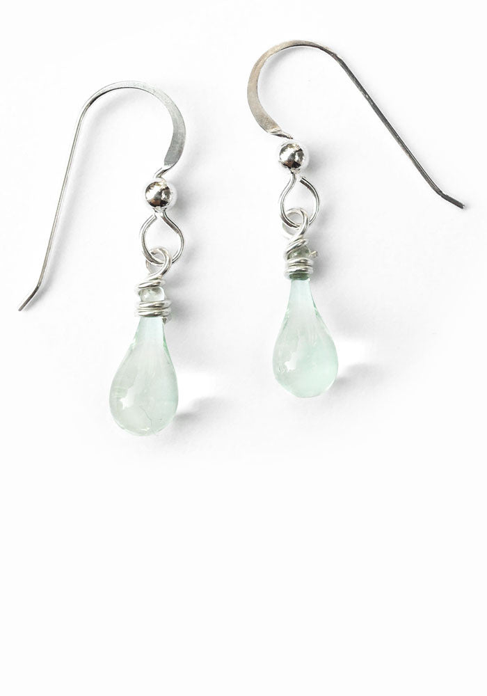 Demi Drop Earrings - glass Earrings by Sundrop Jewelry