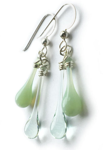 Recycled Greens Duet Earrings