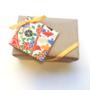 Recycled gift wrap for Sundrop Jewelry