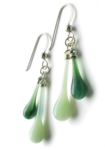 Spring Greens Duet Earrings