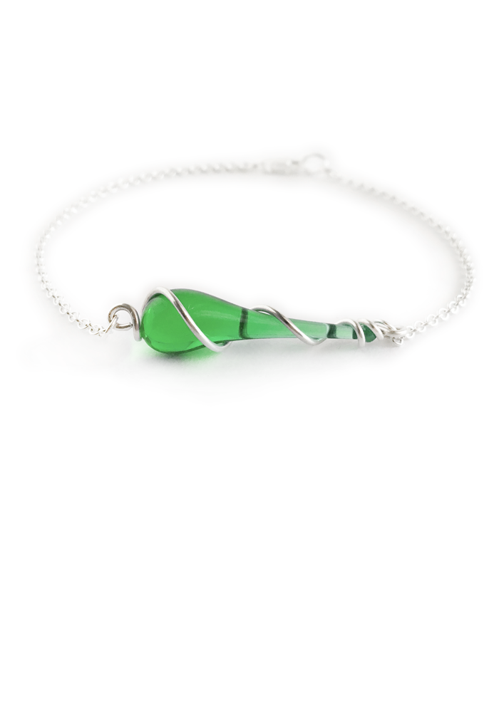 Celia Bracelet - glass Bracelet by Sundrop Jewelry