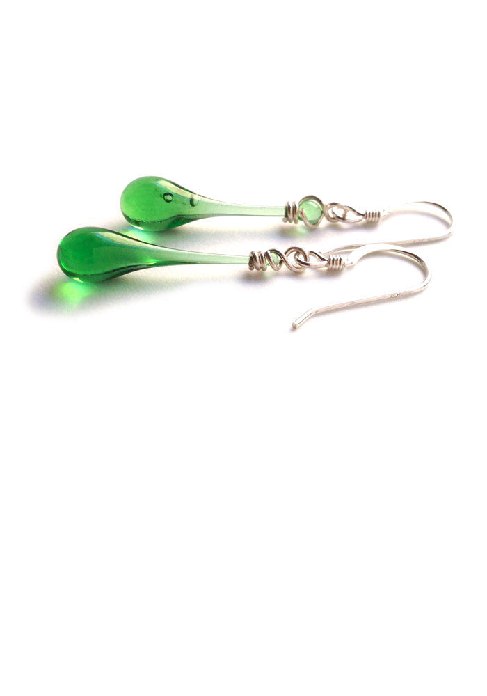 Solaris Glass Earrings - glass Earrings by Sundrop Jewelry