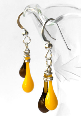 Fall Leaves Chime Earrings