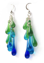 Rainforest Waterfall Earrings