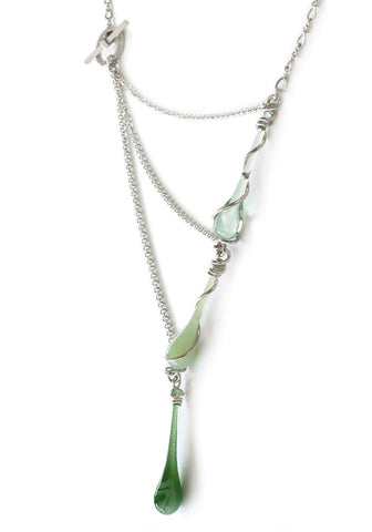 Spring Greens Aurora Necklace