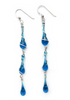 Calypso Earrings - glass Earrings by Sundrop Jewelry