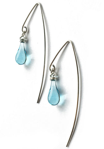 Marquise Earrings, short