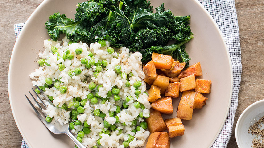 Risotto with Butternut Squash and Kale
