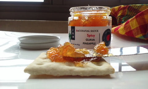 spicy chilli guava pineapple jam