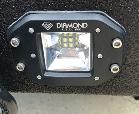 40 WATT FLUSH MOUNT LED PODS