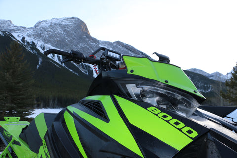Arctic Cat LED handle bar light kit.
