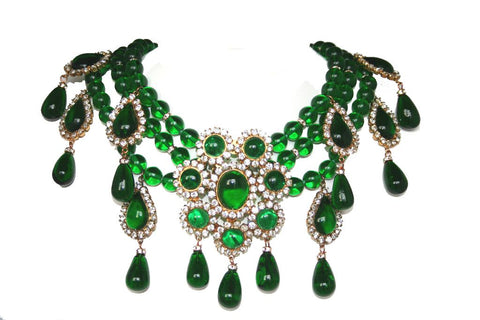 Chanel-haute-couture-necklace-made-by-gripoix-1980-online-shop-katheleys-luxury-vintage-pieces