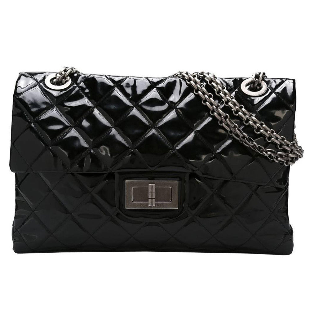 Exceptional Chanel vintage XXL Collector Handbag 2009 - Katheleys for Unique Vintage Luxury