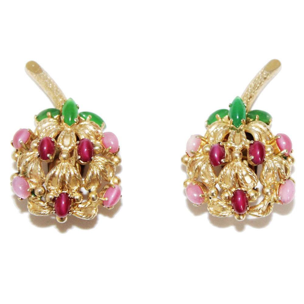 Beautiful Christian Dior vintage fruit earrings 1969 – Katheley\'s ...