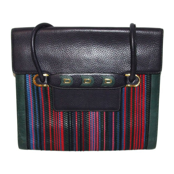 Delvaux vintage multi color bag collector