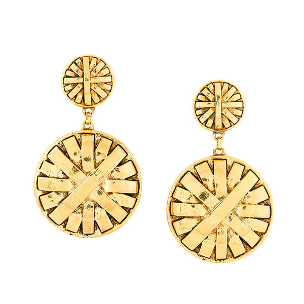 Givenchy impressive couture clip-on earrings