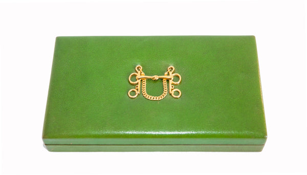 Hermès Vintage Deco Green box 1960 - Katheleys for Unique Vintage Luxury