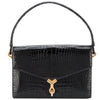 Hermès Rarity Black croco vintage bag 60s - Katheleys for Unique Vintage Luxury