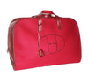 Just fabulous color for this Hermès vintage Feu2dou travel bag 1996