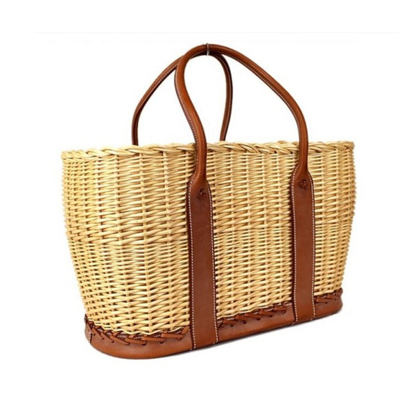Reserved The Garden Party Hermes Wicker basket bag Ltd