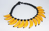 Great fun very Josephine Baker vintage bananas necklace