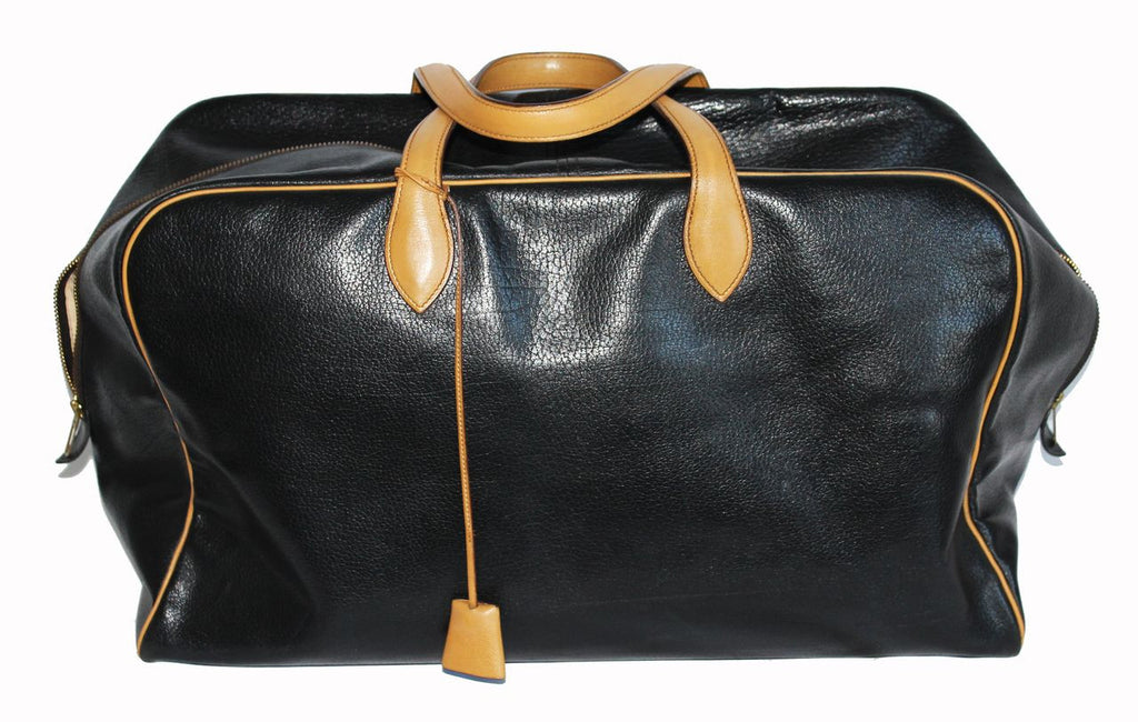 Hermes Vintage Victoria Travel Bag 1977 - Katheleys for Unique Vintage Luxury