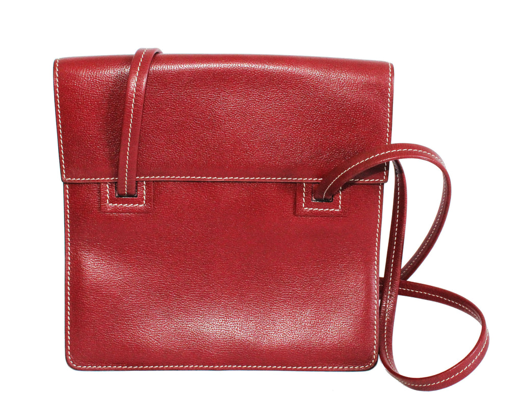 Gorgeous Red Delvaux Vintage