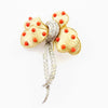 Jomaz-coral-crystal-knot-brooch-60s-shop-vintage-jewels-katheleys-belgium-london-expert-collector